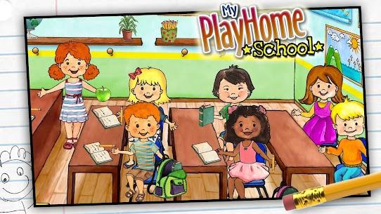 تحميل لعبة My PlayHome School المدرسة مجانا للاندرويد 2