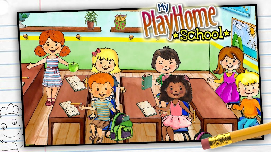 My PlayHome School  poster 5