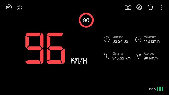 Speedometer : GPS Speed Tracker, Distance Meter, 1