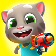 App Icon for Talking Tom Blast Park: The New Blasting Adventure App in United States Google Play Store