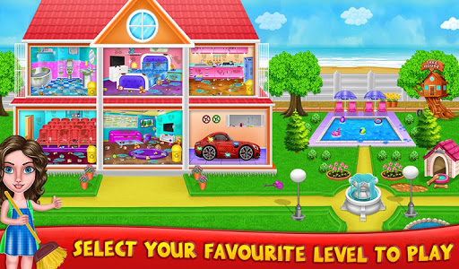 House Cleanup : Girl Home Cleaning Games 3.9.1 screenshots 1
