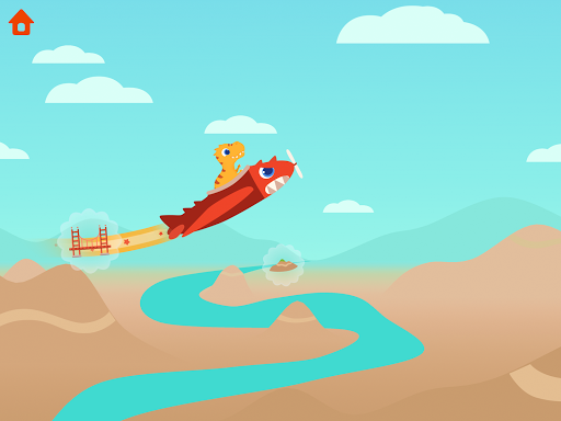 Dinosaur Plane - Plane piloting game for kids 1.1.0 screenshots 23