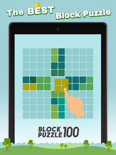 Block Puzzle 100 - Fill lines by tangram cube