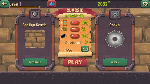 orcs vs blades : smash monsters screenshot 1