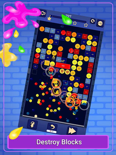 Brick Breaker - Bricks Ballz Shooter apkpoly screenshots 15