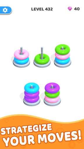Color Hoop Stack - Sort Puzzle 1.0.3 screenshots 2