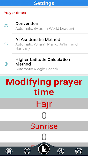 Prayer Timings Muslim Salatuk android2mod screenshots 8