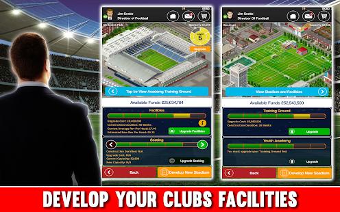 Club Soccer Director - Soccer Club Manager Sim screenshots 3