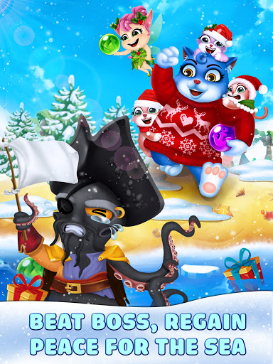 Cat Pop Island: Bubble Shooter Adventure Apkfinish screenshots 20