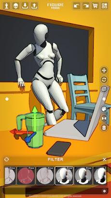 アクション解剖学 - アーティストのための解剖学ポーズアプリのおすすめ画像2