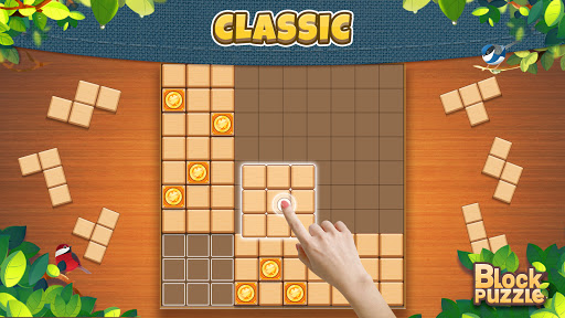 Wood Block Puzzle: Classic wood block puzzle games android2mod screenshots 9