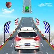 Mega Ramp Ambulance Car Stunts Game