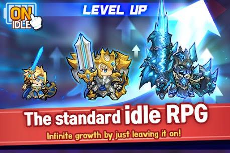 Raid the Dungeon : Idle RPG Heroes AFK or Tap Tap Mod Apk (Mod Menu) 2