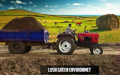 New Tractor trolley Farming Cargo Driver 3D 1.0.6 screenshots 5