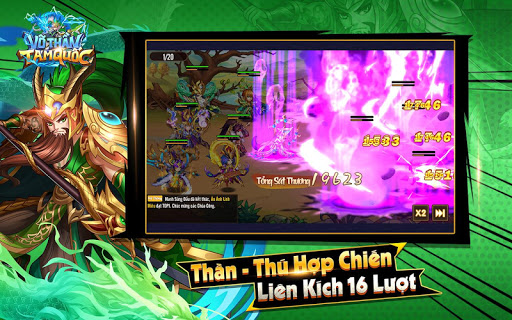 Vu00f5 Thu1ea7n Tam Quu1ed1c - Vo Than Tam Quoc 1.0.9 Screenshots 8