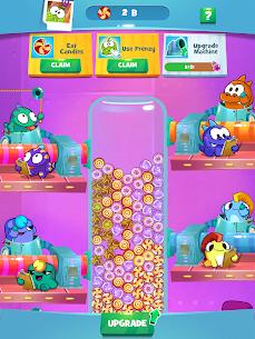 Om Nom Idle Candy Factory Mod Apk 0.14 (Free Shopping) 6