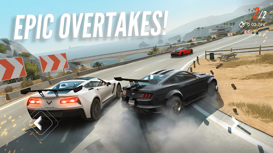 Rebel Racing (MOD APK, Activate Nitro/Frozen AI) v1.90.14282 2