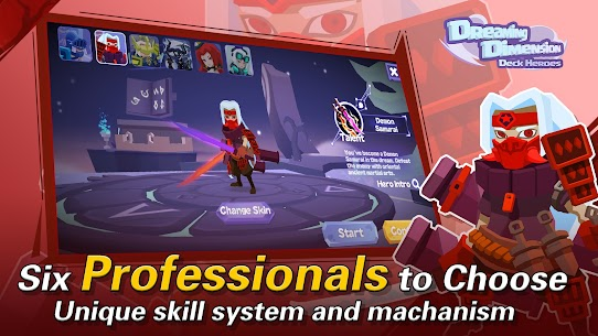 Dreaming Dimension Mod Apk: Deck Heroes (Unlimited Coins) 3