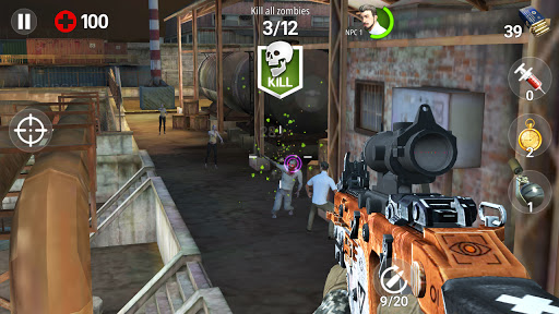 Dead Fire: Zombie shooting apktram screenshots 3