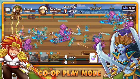 Mega War Mod Apk- lash of Legions (Unlimited Gold) 10
