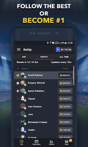 Sports Betting Game - BETUP  screenshots 4