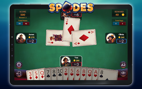 Spades - Offline Free Card Games screenshots 22