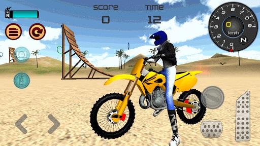 Motocross Beach Jumping 3D apkdebit screenshots 4