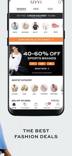 SIVVI Online Fashion Shopping modavailable screenshots 4