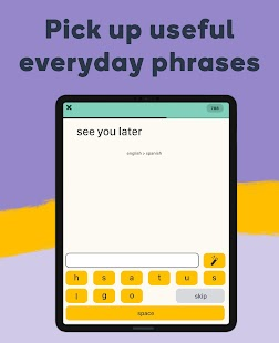 Fun & Fast Language Learning App Screenshot