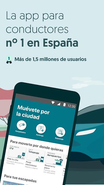 Captura de Pantalla 2 de ElParking - Parquímetro, parkings, telepeaje y más para android