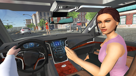 Car Simulator Escalade Driving Unlimited Money
