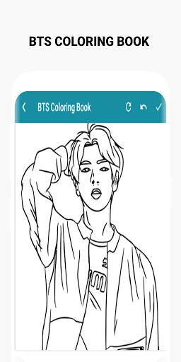 BTS Coloring Book  Screenshots 9