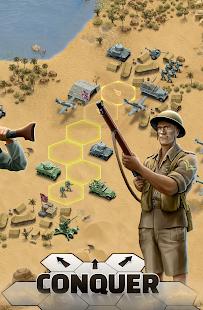 1943 Deadly Desert - a WW2 Strategy War Game screenshots 3