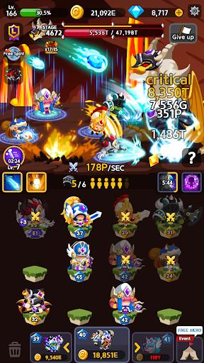 Merge Heroes Frontier: Casual RPG Online 3.3.0 screenshots 6