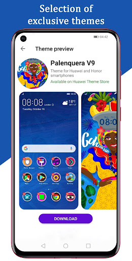 Free EMUI themes for Huawei and Honor 2.3 Screenshots 3