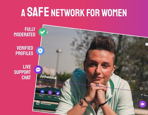 Wapa: Lesbian Dating, Find a Match & Chat to Women 13.7.0.6 Screenshots 14