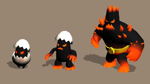 Merge Monster Evolution:  Summon & Merge RPG 1.0.16 screenshots 8