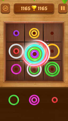 Color Rings - Colorful Puzzle Game 3.4 screenshots 3