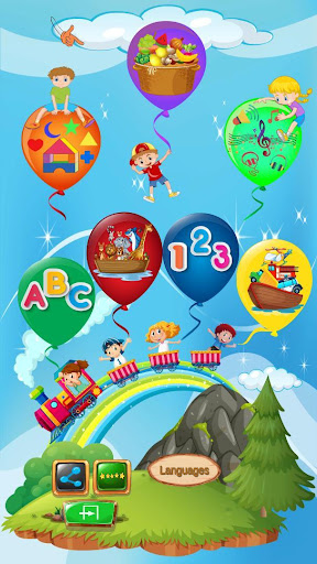 Educational Balloons: Alphabet Numbers Shapes 2.6 screenshots 1