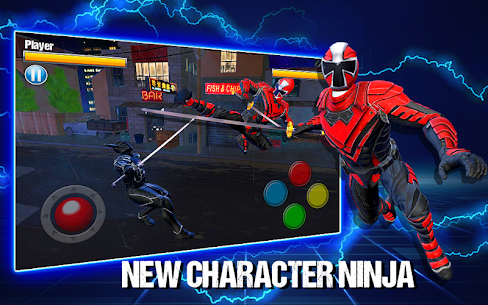 Dino Hero Ninja Fighters Battle Shadow Steel Game Hack Android and iOS 1