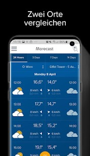 Wetter, Radar & Widget – Morecast Screenshot