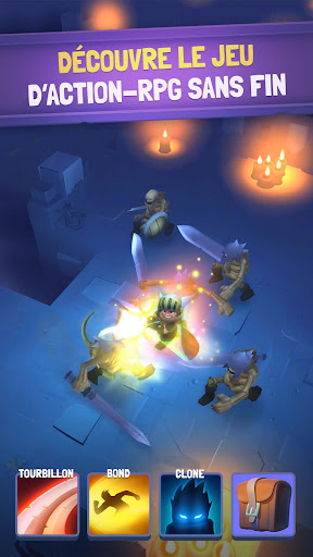 Télécharger Gratuit Nonstop Knight - Offline Idle RPG Clicker APK MOD (Astuce) screenshots 1