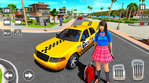 Taxi Driving Simulator City Car New Games 2021 0.3 screenshots 5