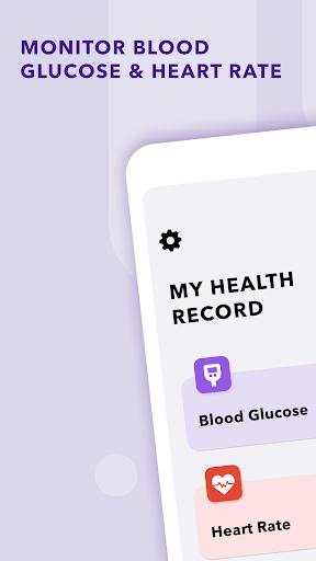 Blood Sugar & Blood Pressure Tracker
