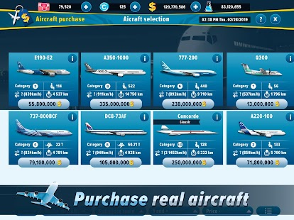 Airlines Manager - Tycoon 2021 Screenshot