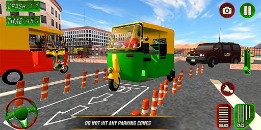 Tuk Tuk Auto Rickshaw Driver 2019:City Parking 1.5 screenshots 5