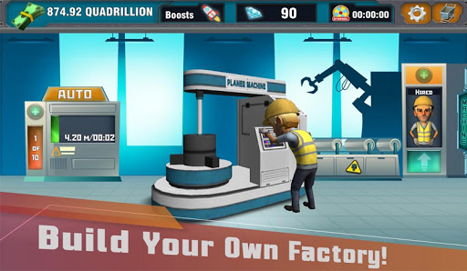 Factory Tycoon : Idle Clicker Game  screenshots 1