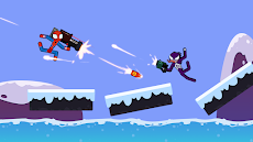 Spider Stickman Fighting - Supreme Warriorsのおすすめ画像1