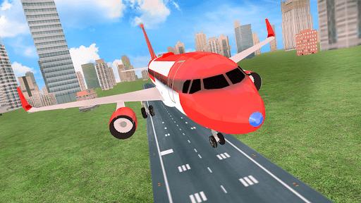 Airplane Flight Simulator Free Offline Games apktram screenshots 5