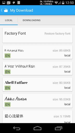 iFont(Expert of Fonts) 5.9.8.8 Screenshots 4
